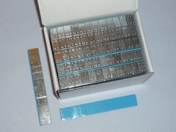 Stahl Kleberiegel verzinkt 60g 100 Stück,Klebegewicht,Auswuchtgewicht