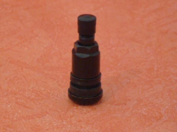 Metallventil schwarz 11,3 mm mit KU-Scheibe 1 Stück