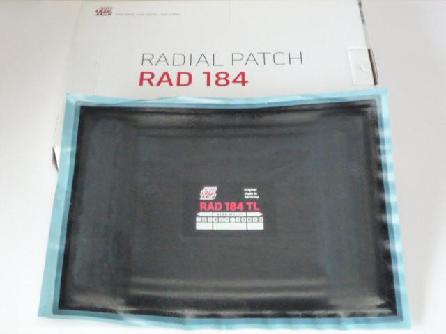 Tip Top RAD 184 TL Reparaturpflaster<br />5 Stück