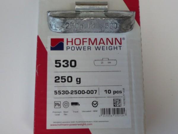 Hofmann LKW Auswuchtgewichte 250g für Stahlräder 10 Stück