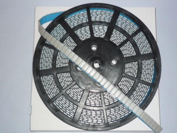 Stahl Klebegewicht auf Rolle 6 kg kunststoffbeschichtet grau,Kleberiegel,Auswuchtgewicht