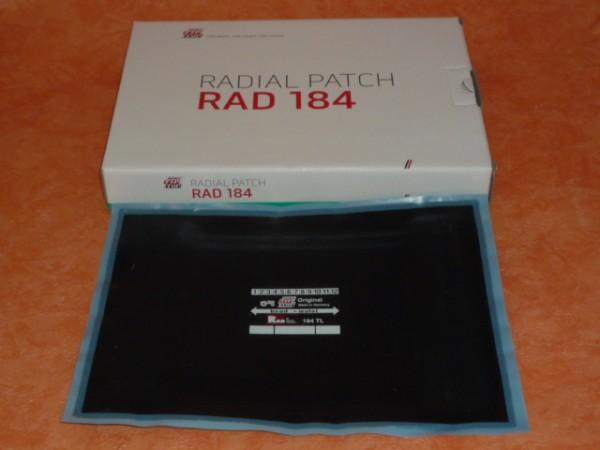 Rema Tip Top RAD 184 TL Reparaturpflaster 1 Stück, Reifenreparatur