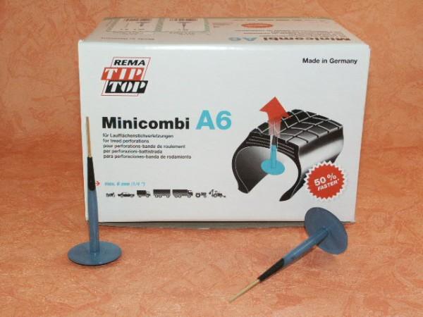 Rema Tip Top Minicombi A6 Nachfüllpackung 40 Stück, Reifenreparatur