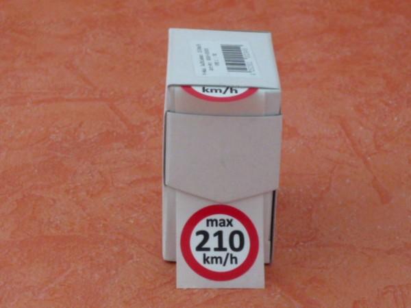Geschwindigkeits-aufkleber H 210 km/h 100 Stück