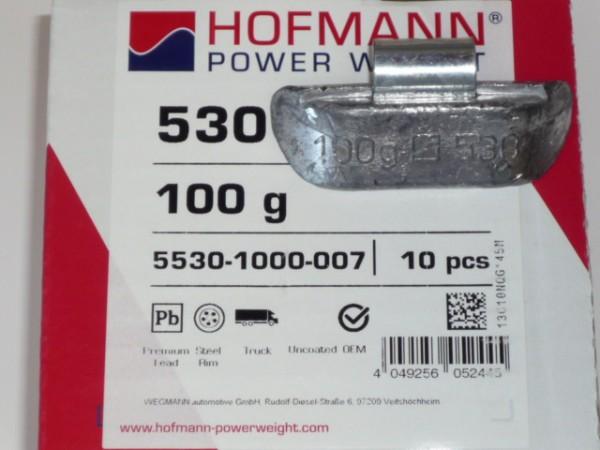 Hofmann LKW Auswuchtgewichte 100g für Stahlräder 10 Stück