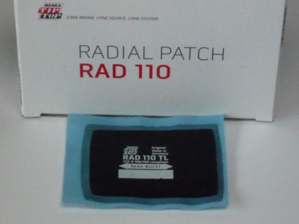 Tip Top RAD 110 TL Reparaturpflaster 20 Stück