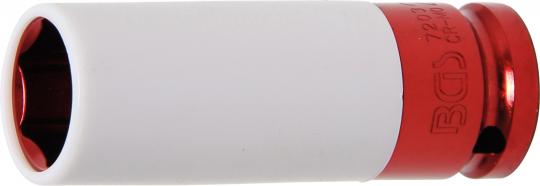 """Kraft-Schoneinsatz mit Kunststoffmantel 21 mm 1/2"""""""