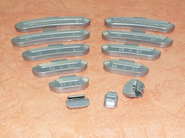 Zink Auswuchtgewichte 45g für Stahlräder 25 Stück,Rema Tip Top