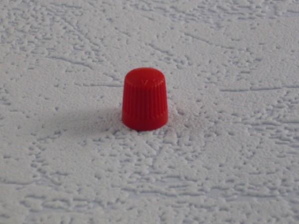 Ventilkappen Kunststoff rot 500 Stück