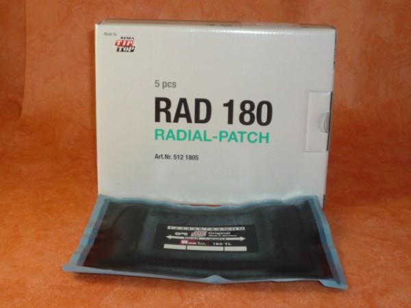 Tip Top RAD 180 TL Reparaturpflaster 5 Stück