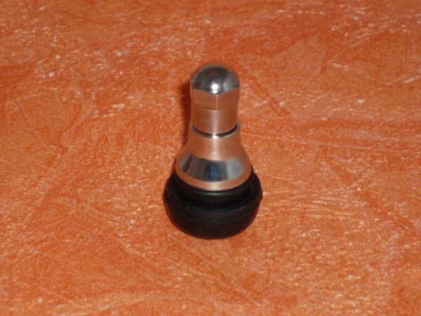 Gummiventil mit Chromhülse und Kappe TR 412C 1 Stück