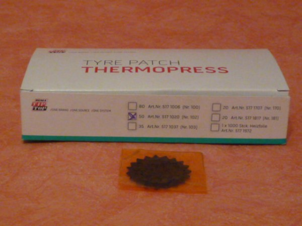 Tip Top Thermopress Pflaster Nr. 102 50 Stück