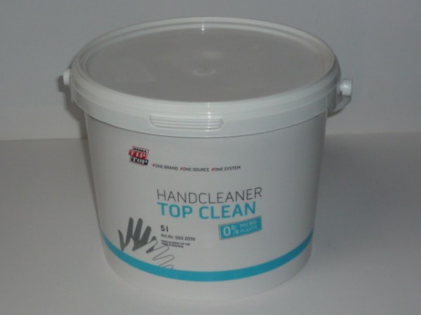 Tip Top Hand Cleaner Top Clean 5 Liter, 0% MICRO-PLASTIC