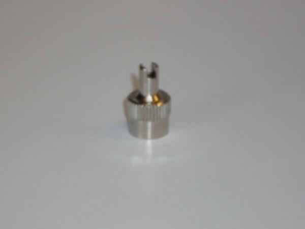 Schlüssel - Ventilkappen Metall 100 Stück