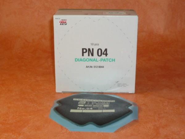 Tip Top Diagonal PN 04 Reparaturpflaster 10 Stück