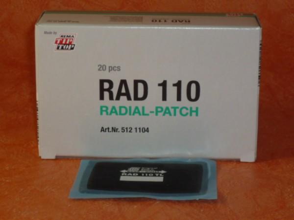 Tip Top RAD 110 TL Reparaturpflaster 2 Stück