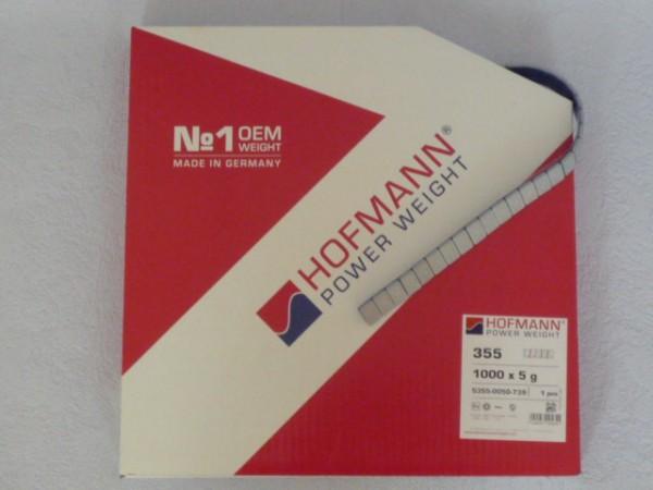 Hofmann Power Weight Typ 355 Stahl-Klebegewicht auf Rolle 5Kg grau,auswuchten