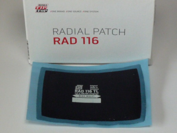 Tip Top RAD 116 TL Reparaturpflaster 10 Stück