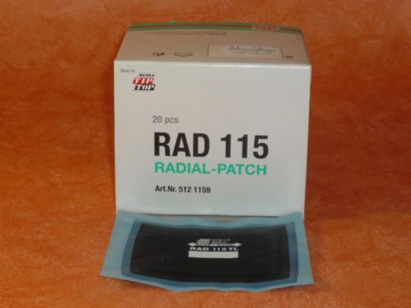 Tip Top RAD 115 TL Reparaturpflaster 20 Stück
