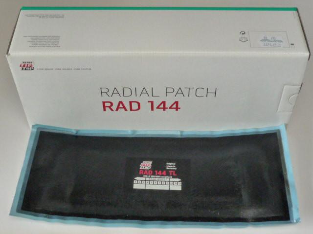 Tip Top RAD 144 TL Reparaturpflaster<br />10 Stück