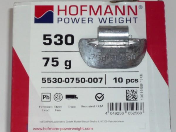 Hofmann LKW Auswuchtgewichte 75g für Stahlräder 10 Stück