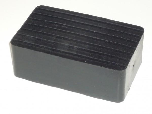 Hebebühnen - Gummi 165 x 100 x h=60mm