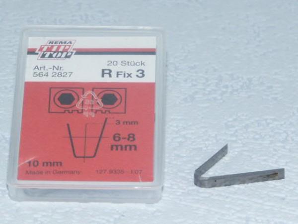 Schneidmesser für Rubber Cut R Fix 3 20 Stück