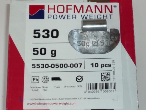 Hofmann LKW Auswuchtgewichte 50g für Stahlräder 10 Stück