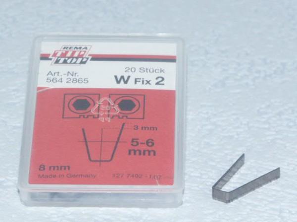 Schneidmesser für Rubber Cut W Fix 2 20 Stück