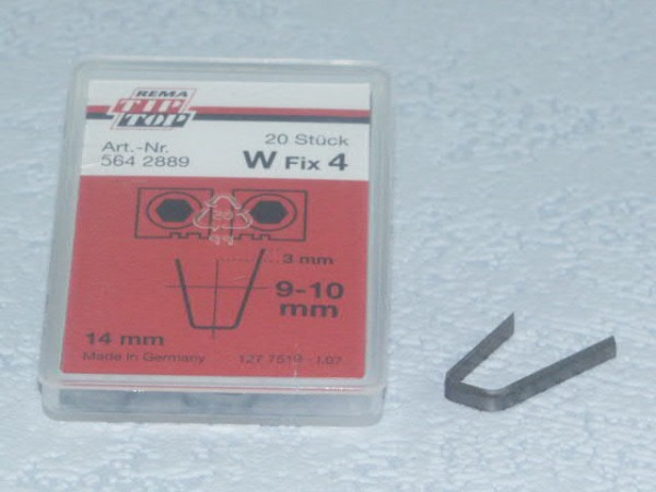Schneidmesser für Rubber Cut W Fix 4 20 Stück