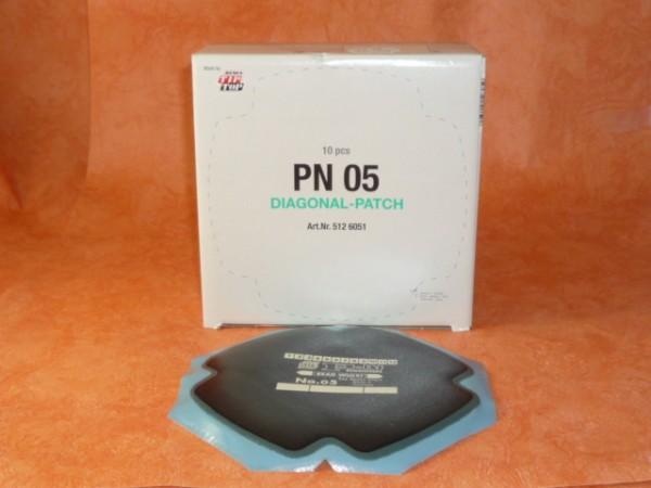 Tip Top Diagonal PN 05 Reparaturpflaster 10 Stück
