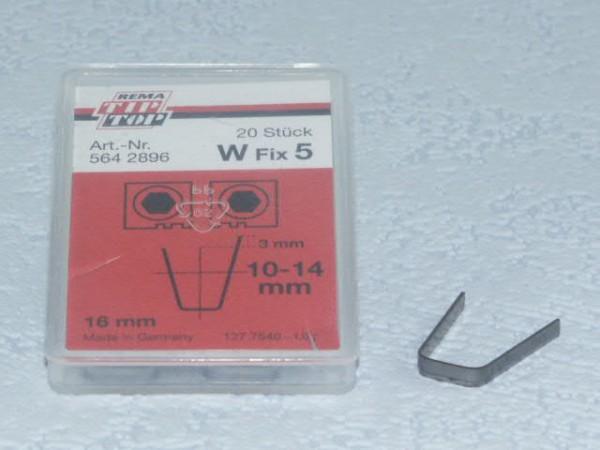 Schneidmesser für Rubber Cut W Fix 5 20 Stück