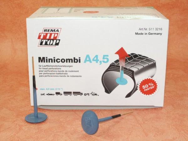 Rema Tip Top Minicombi A4,5 Nachfüllpackung 40 Stück, Reifenreparatur