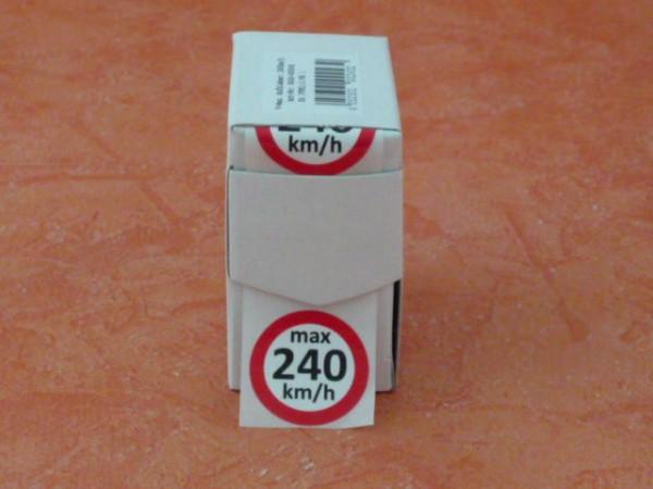 Geschwindigkeits-aufkleber V 240 km/h 100 Stück