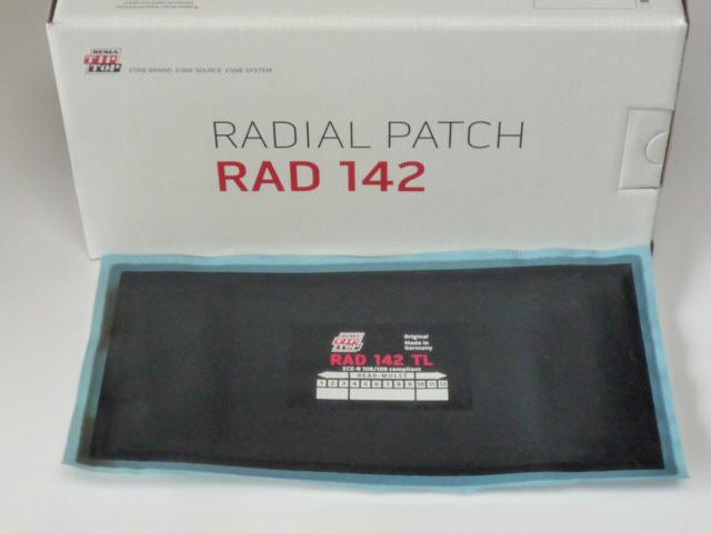 Tip Top RAD 142 TL Reparaturpflaster<br />10 Stück