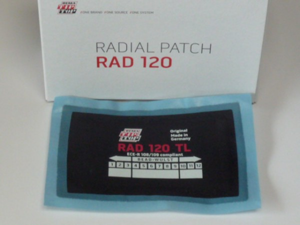 Tip Top RAD 120 TL Reparaturpflaster 10 Stück