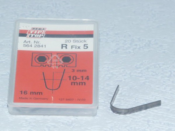 Schneidmesser für Rubber Cut R Fix 5 20 Stück