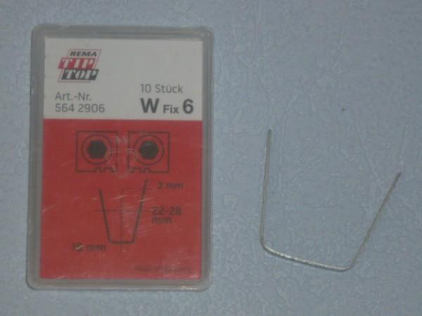 Schneidmesser für Rubber Cut W Fix 6 10 Stück