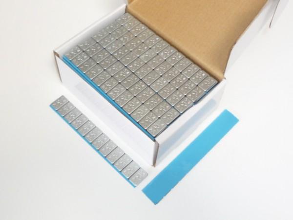 Stahl-Kleberiegel flach 30g KU-beschichtet 100 Stück