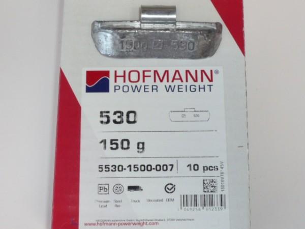 Hofmann LKW Auswuchtgewichte 150g für Stahlräder 10 Stück