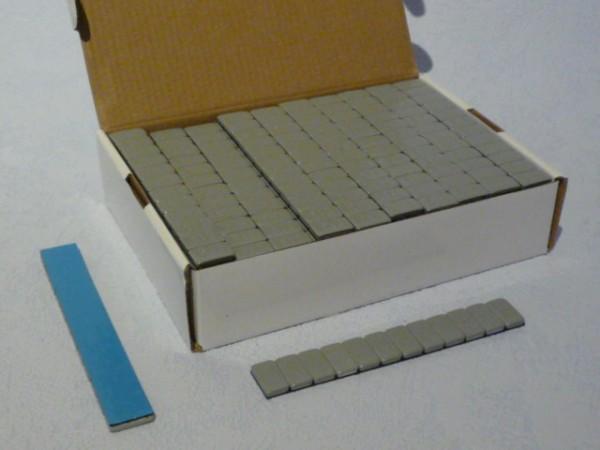 Stahl-Kleberiegel kunststoffbeschichtet 60g 100 Stück