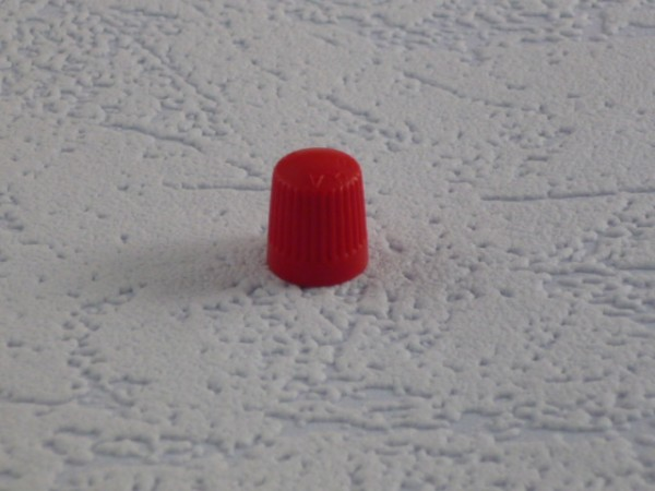 Ventilkappen Kunststoff rot 1.000 Stück