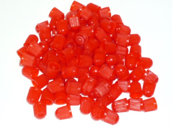 Ventilkappen Kunststoff rot 100 Stück