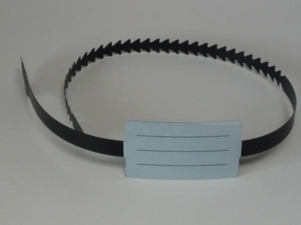 Reifen Einlagerungsband mit Beschriftungsfeld 100 Stück
