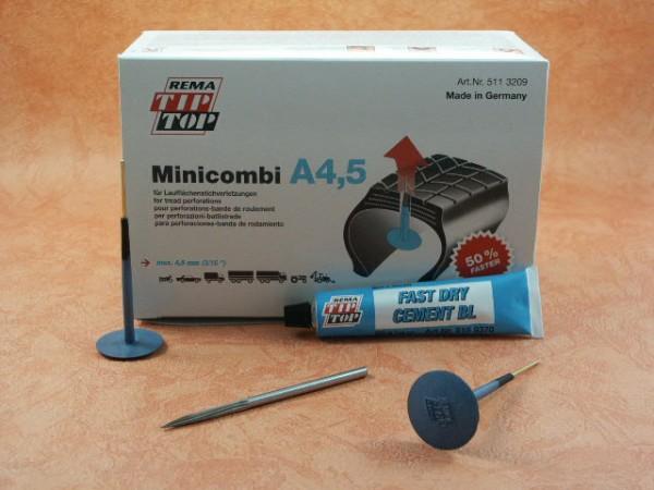 Rema Tip Top Minicombi A4,5 Werkstatt Sortiment, Reifenreparatur