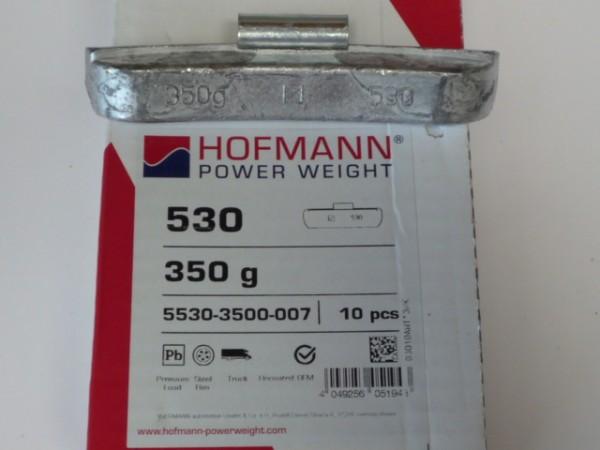 Hofmann LKW Auswuchtgewichte 350g für Stahlräder 10 Stück