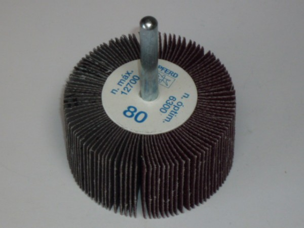 Fächerschleifer, Lamellenschleifer P80 Ø 60 x 30mm
