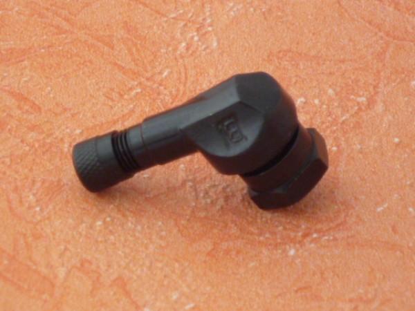 Winkelventil 11,3 mm schwarz 1 Stück