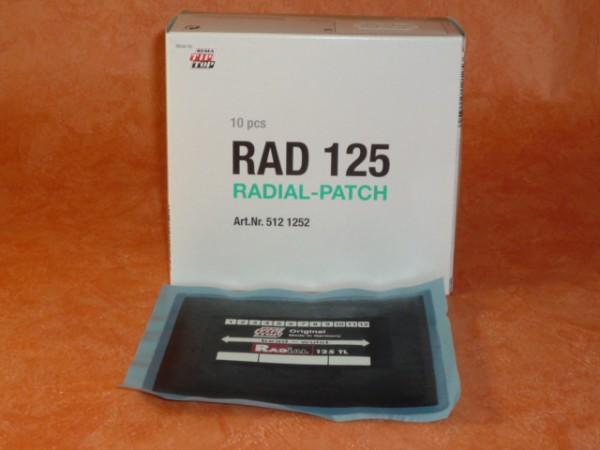 Tip Top RAD 125 TL Reparaturpflaster 1 Stück