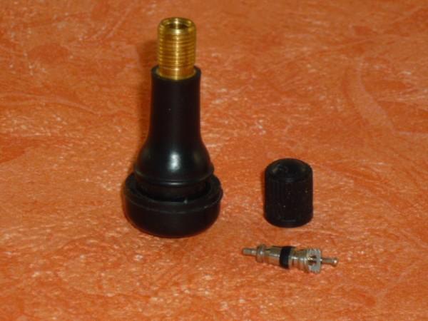 Gummiventile TR 413, Einsatz und Kappe unmontiert 100 Stück